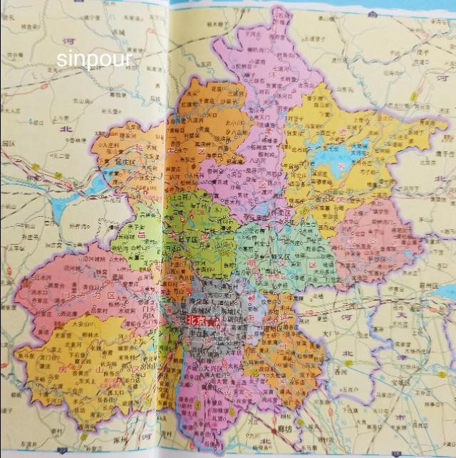 北京地图全图可放大