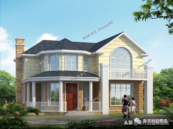 9款农村别墅设计图带柴火灶,高端又接地气,让你的... _图纸之家