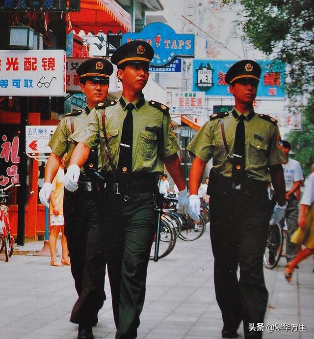 警察春秋常服图片