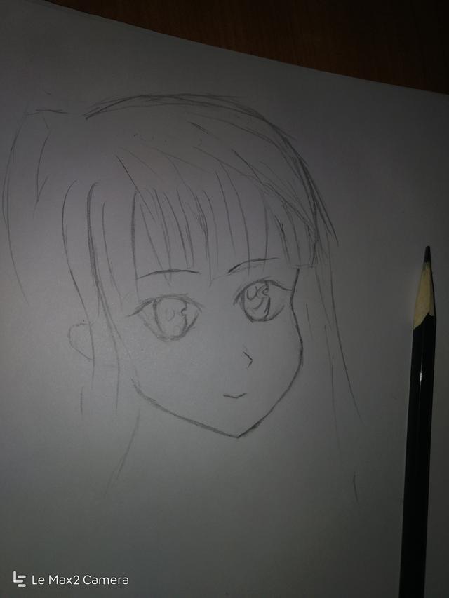 铅笔画人物古装女
