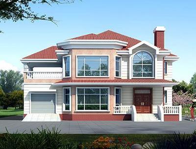 4套农村自建房别墅设计图由你选择!(效果图+平面图)