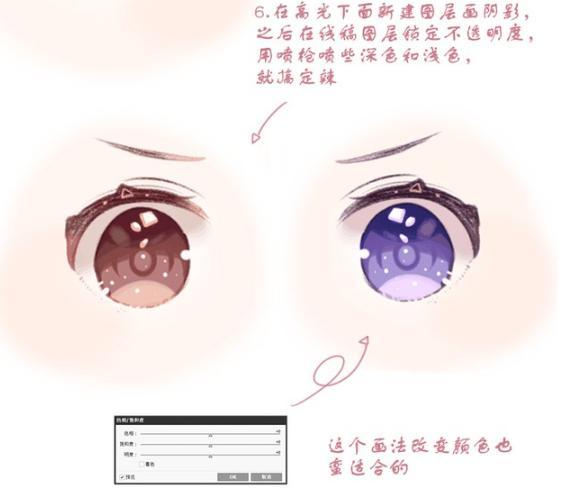 眼睛简笔画可爱