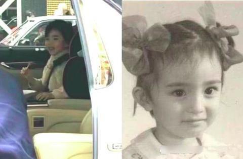 """都说戚薇和女儿长得像,看了杨幂女儿后,才懂啥叫""""复制粘贴"""""""