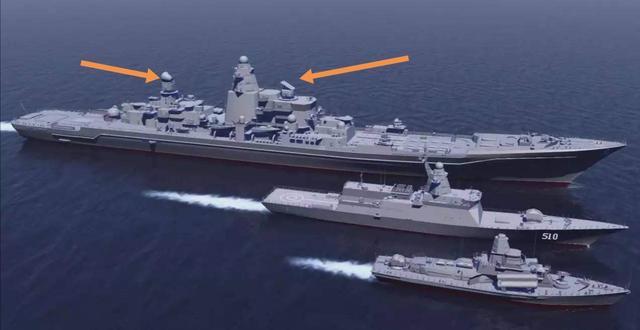 美国核动力巡洋舰