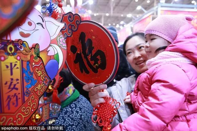 大场面!北京年货大集,看着就过瘾!
