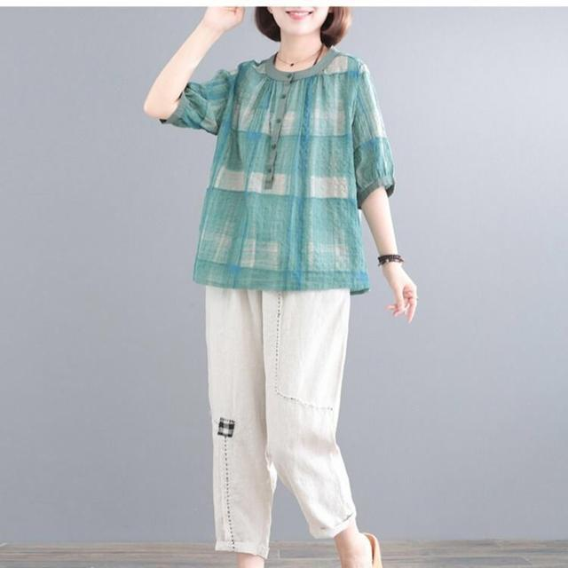棉麻中老年女套装新款 - 棉麻中老年女套装2020年新款 - 京东