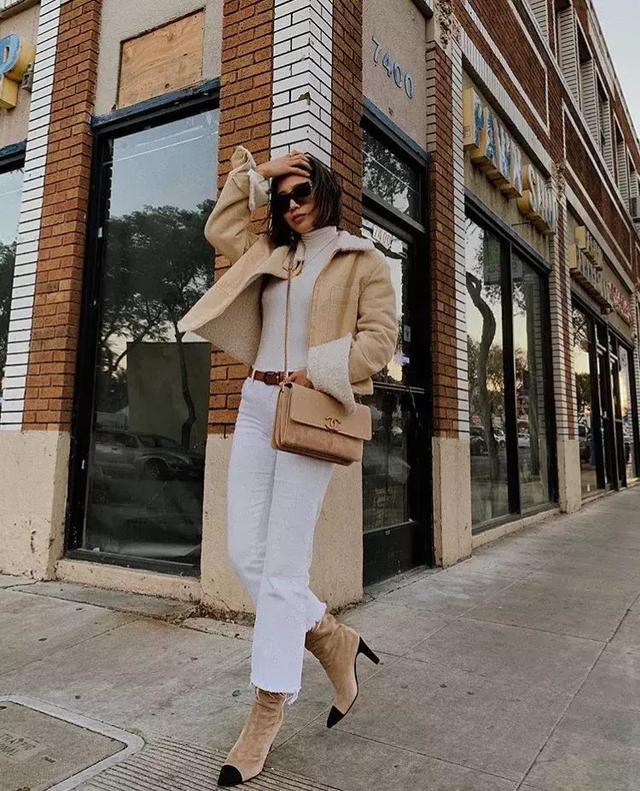 大衣+阔腿裤,让你时髦爆棚,真的是无敌好看呀 !