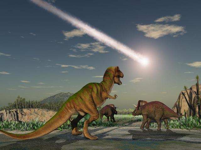"""火山被""""冤枉""""了?英科学家称恐龙灭绝真凶来自外太空"""