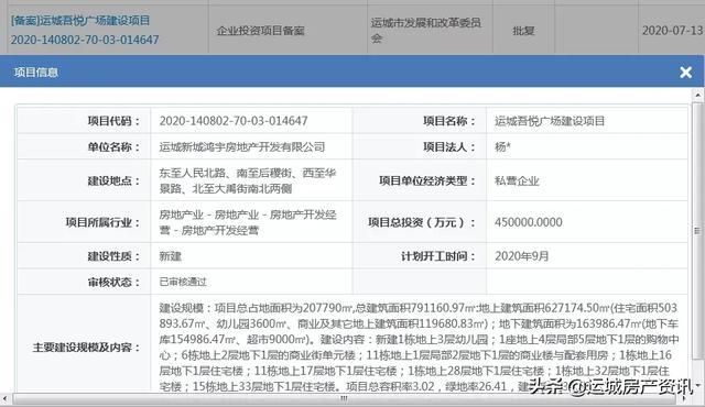 运城房产动态(7.13-7.19)