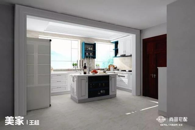 我的开放之家 10款开放式厨房图片_齐家网装修效果图