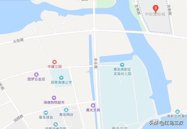 青岛高新区5宗地块拍卖,疑是此前 伊甸园所在位置
