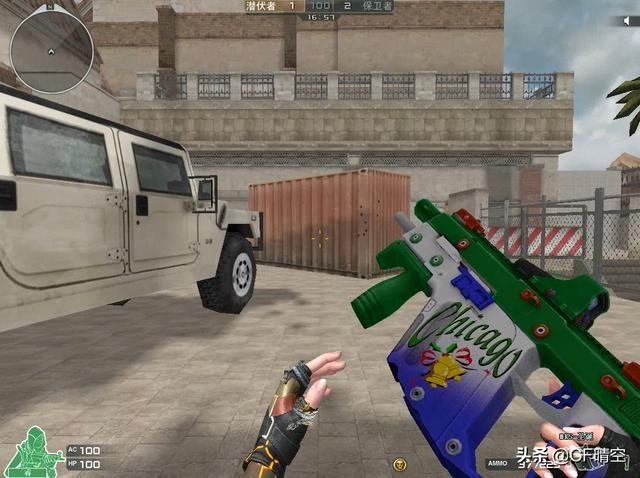 穿越火线:新版本枪械外观展示以及属性评价