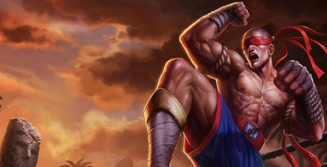 神拳盲僧最帅,武神贾克斯最酷,最后两款最霸气如今... _腾讯网