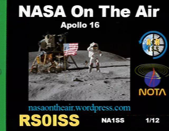 对讲机接收国际空间站发送的SSTV图片