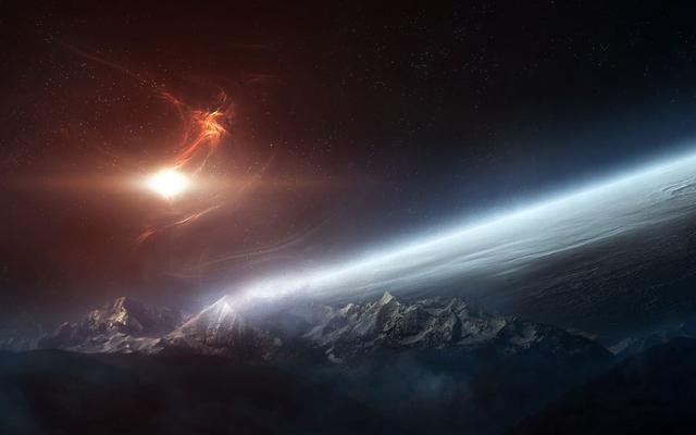 人类如果按照常规的办法连太阳系都很难飞出去