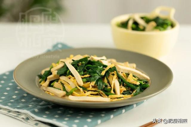别老韭菜炒鸡蛋了,加一种豆制品食材,全家的蛋白质都补充全了