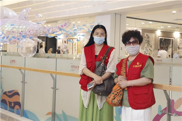 公益在线唐山工作站举行庆祝建党99周年助力文化活动