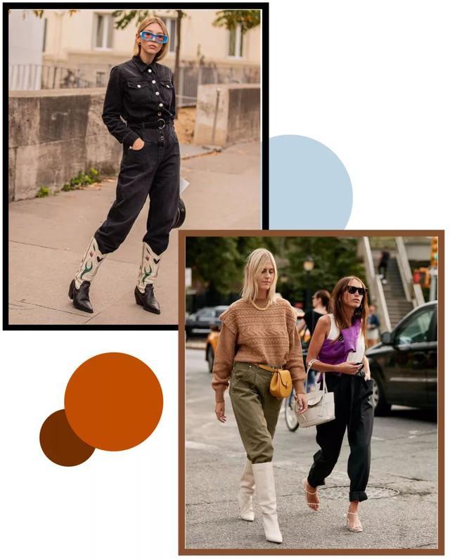 论一双靴子的几十种搭配风格