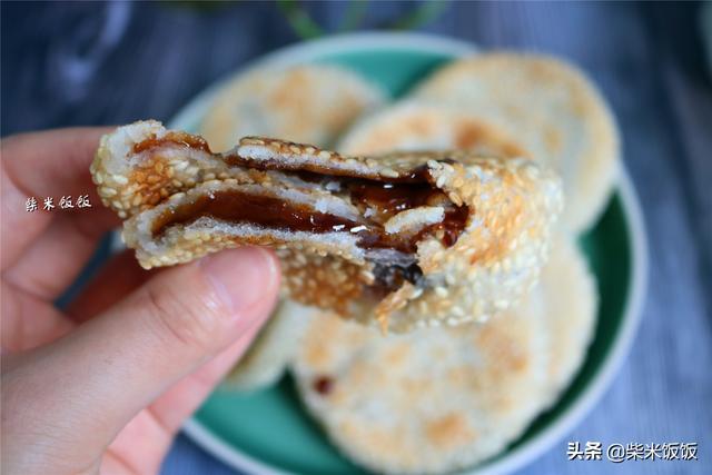 天气越热,越要吃这饼,香甜软糯好滋味,温暖脾胃又滋补