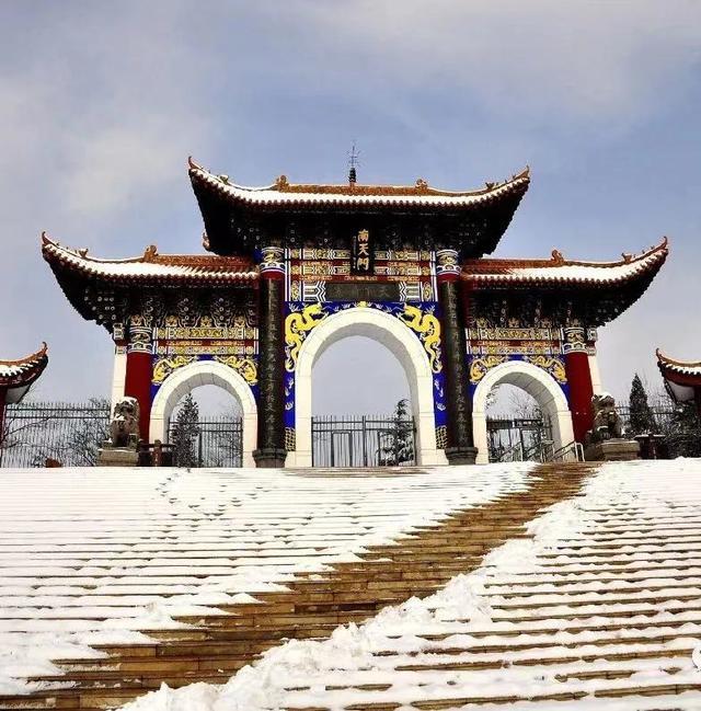 石家庄岔河风景区图片