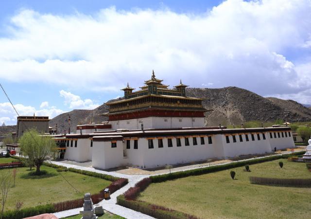西藏寺庙分布图