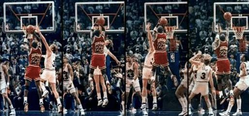 為何喬丹的投籃如此難以封蓋?看了他這五張相片,你自然就明白,根本束手無策!-黑特籃球-NBA新聞影音圖片分享社區