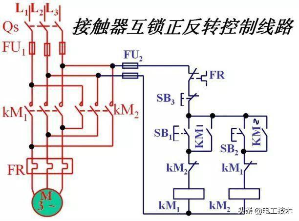 还有不会交流接触器接线的电工吗?看看这篇就懂了!附常用实物图