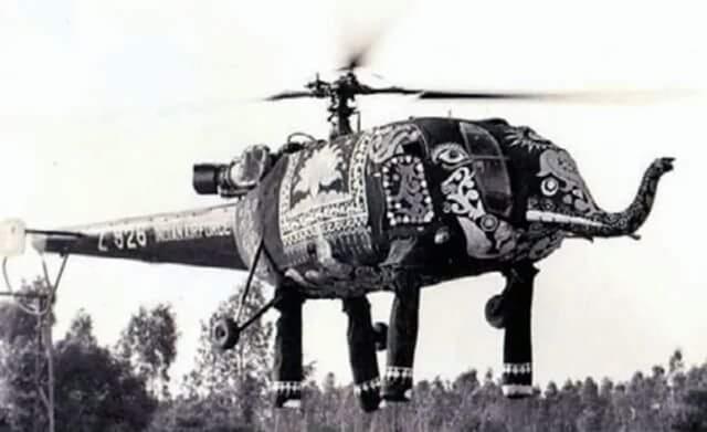 法国直升机到了印度之后,被改得亲妈都不认识了