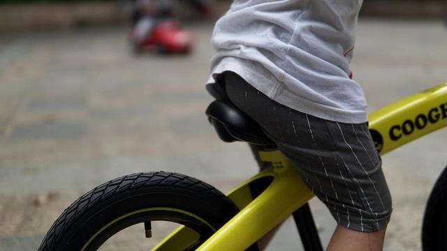 畅快滑行,勇敢直前,COOGHI酷骑儿童平衡车,就是这么酷