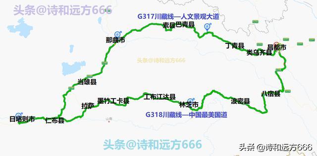 自驾游路线干货——西藏自驾游线路推荐