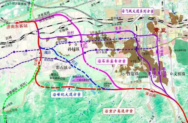 济南至莱芜高铁动工了,6站点在哪里,路线怎么走?现在告诉你