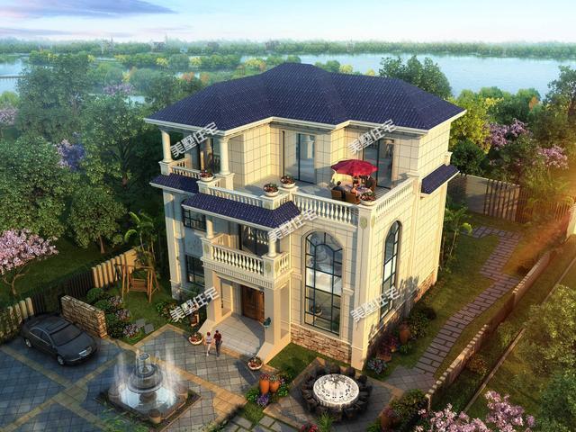二层楼别墅