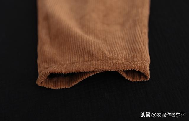 慵懒的条绒松紧腰休闲裤,穿出你想要的自由舒适,无拘无束