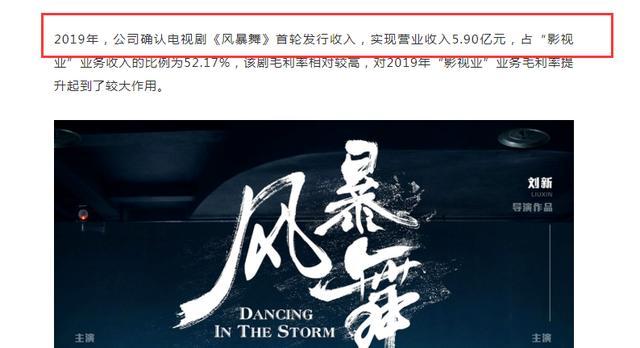 《风暴舞》未播就赚5.9亿,陈伟霆和影帝能挑大梁,女主也不简单