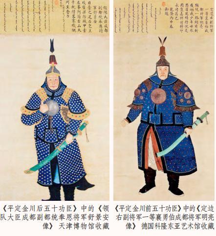 为什么古代的武将画像肚子挺大,挺着将军肚能上战场吗?