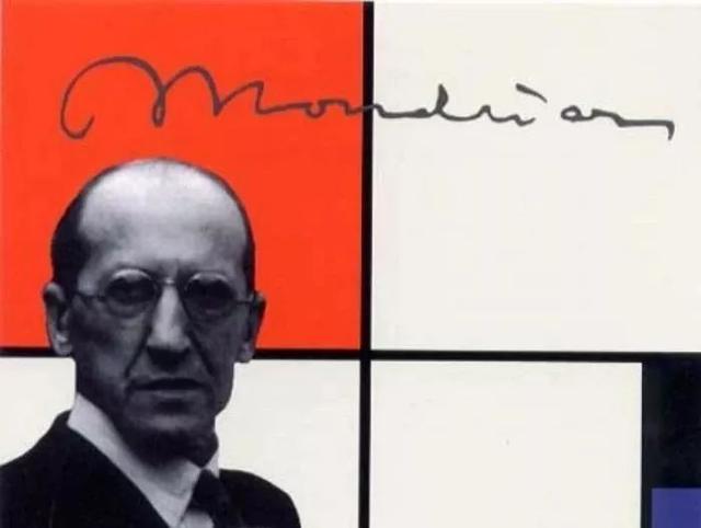 """荷兰画家蒙德里安,他的""""红黄蓝""""经典了100年!"""