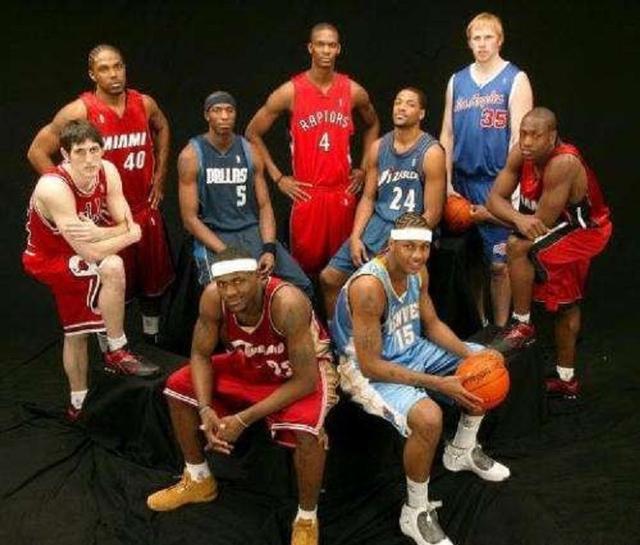 NBA最强五届新秀:84、96和03黄金一代怎么排,剩下2个席位给谁?