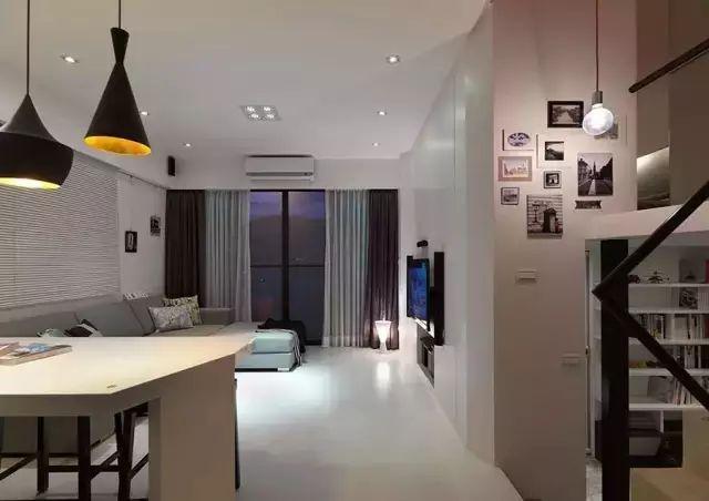 80平米loft小户型装修效果图,巧妙的空间利用