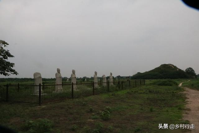 唐顺陵:武则天母亲之陵,唐代规模最大级别最高的皇家外戚墓园
