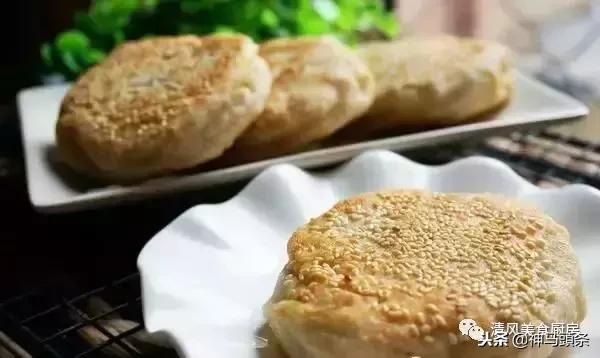 焦酥肉馅烧饼做法,在家就能享受到健康早餐小吃!