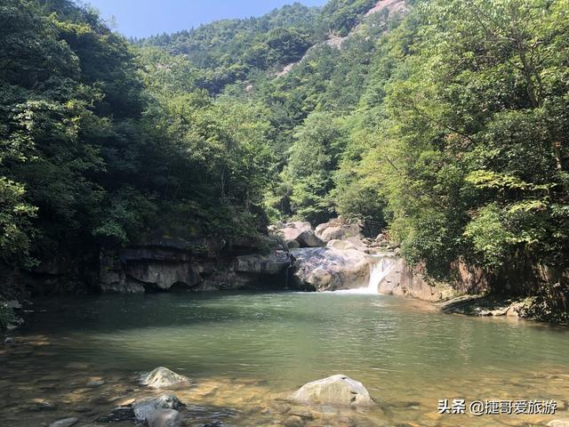 游览 安徽省 六安市 金寨 天堂寨风景区