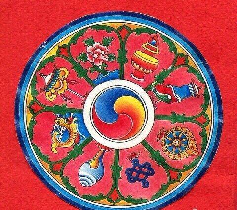 佛教的「吉祥八宝」见者增幅!全家吉祥!