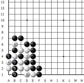 清风围棋每日一题——156(高级)