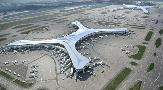 三峡机场t3航站楼图片