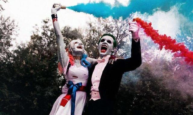 自杀小队小丑高清头像
