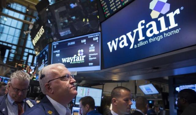 线上卖家居股价却涨成妖股 Wayfair低位反弹能否继续拉升?