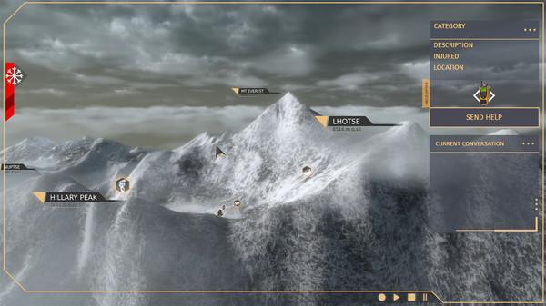 Steam新游《珠穆朗玛峰搜救》体验最为真实的极地救援活动