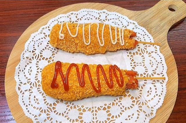 超好吃的芝士香肠,原来做法这么简单!