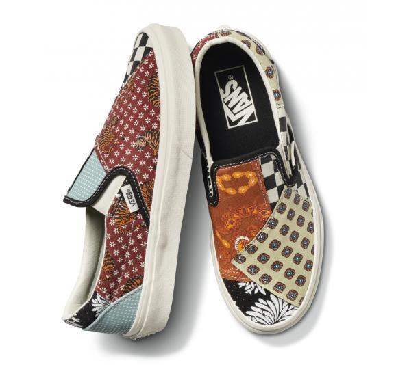 拼布工艺混种经典鞋履!Vans Tiger Patchwork Collection全新上市
