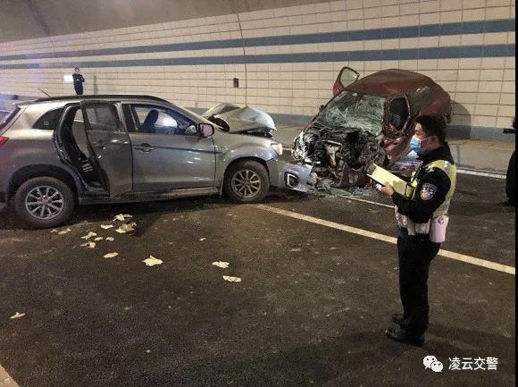 泉南高速南宁往柳州方向发生交通事故 致3人身亡
